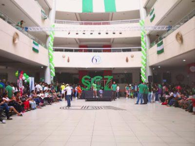 El CBA se viste de verde para celebrar a Santa Cruz