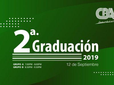 Segunda Graduación 2019